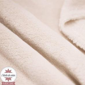 Tissu polaire doudou - bleu marine