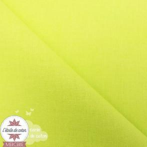 Popeline de coton - vert pomme