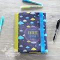 Coupon illustré protège Bullet Journal - nuages