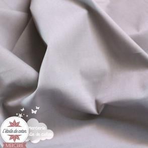 Popeline de coton - anthracite