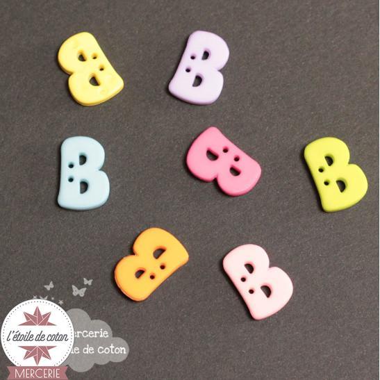 Bouton lettre B