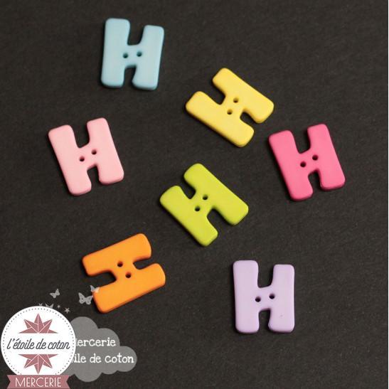 Bouton lettre H