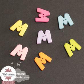 Bouton lettre M