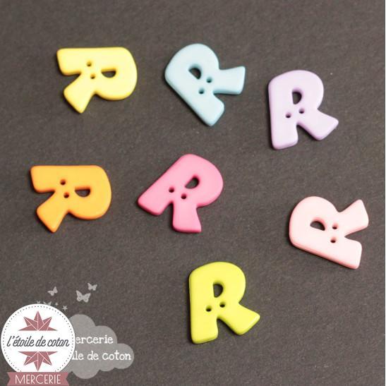 Bouton lettre R