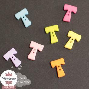 Bouton lettre T