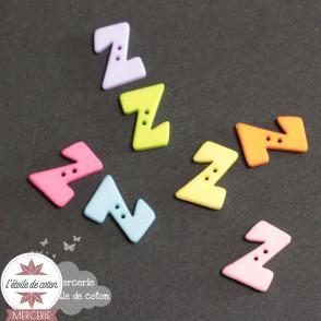 Bouton lettre Z