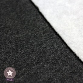 Tissu sweat molletonné - canard