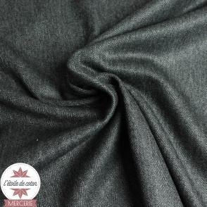 Tissu chevrons anthracite