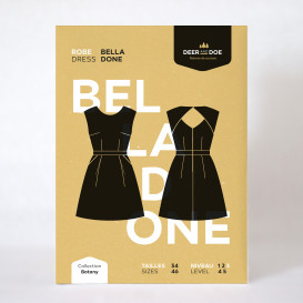 Patron Deer & Doe - robe Belladone
