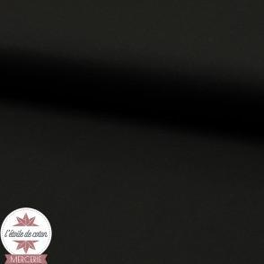 Popeline de coton - noir