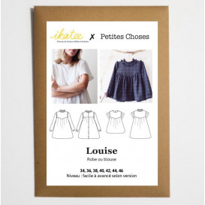 Patron Ikatee - Blouse/Robe LOUISE MUM