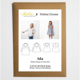 Patron Ikatee - Top/Robe IDA (enfant)