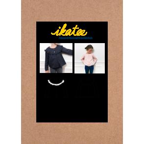 Patron Ikatee - Gilet/Veste légère IRMA (enfant)