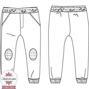 Patron Ikatee - Pantalon Jogging JIM (enfant)