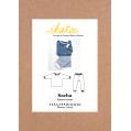 Patron Ikatee - Pyjama mixte SACHA (3-12 ans)