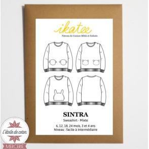 Patron Ikatee - Sweat SINTRA (6 mois - 4 ans)