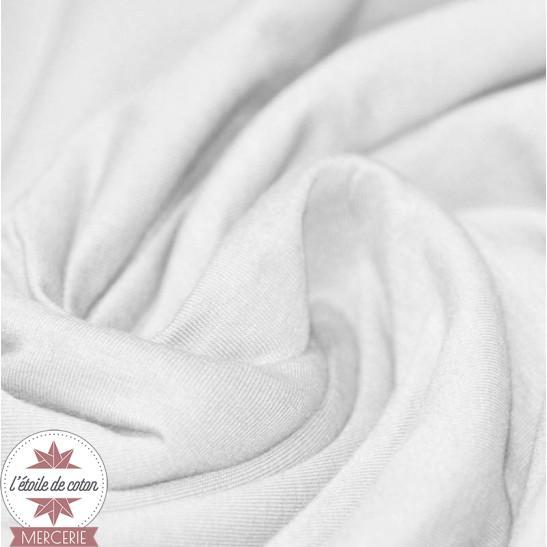 Jersey uni - blanc