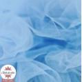 Tulle grande largeur bleu clair