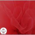 Tulle grande largeur rouge