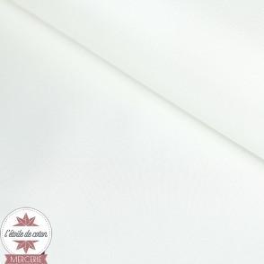 Tissu doublure satin - blanc