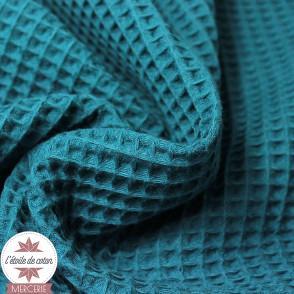 Tissu nid d'abeille canard (Oeko-Tex)