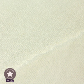 Tissu micro éponge de bambou écru (Oeko-Tex)