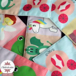 Kit à coudre - DOMINO Princesses + pochette