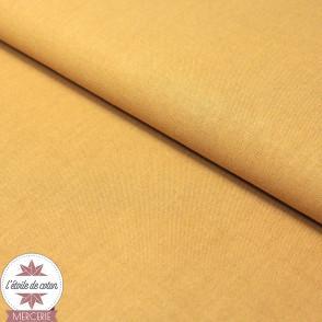 Tissu coton camel - Oeko-Tex