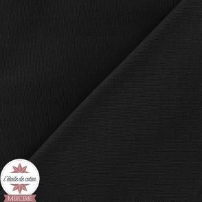 Toile de coton - noir