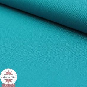 Tissu toile de coton - bleu marine