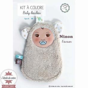 """Kit à coudre Baby doudou """"poupée"""""""