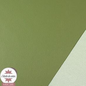 Coupon 50 x 70 cm - simili cuir fin rose clair