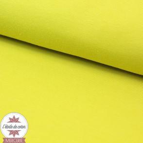Jersey uni - vert chartreuse (Oeko-Tex)