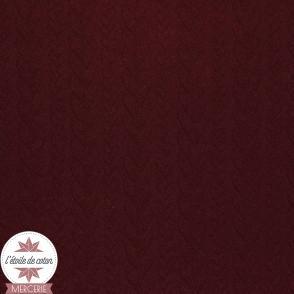 Jersey matelassé torsade - rose nude