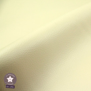 Coupon 50 x 70 cm - simili cuir fin vert kaki