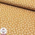 Tissu coton Myosotis - sahara (Oeko-Tex)