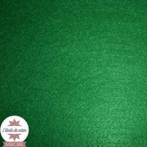 Feutrine vert billard - 45 x 50 cm