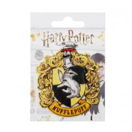 Motif thermocollant Harry Potter - écusson Poudlard jaune