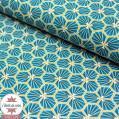 Tissu coton Riad - canard
