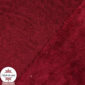 Tissu micro éponge de bambou blanc (Oeko-Tex)