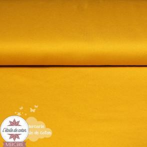 Jersey uni bio - jaune (Oeko-Tex)