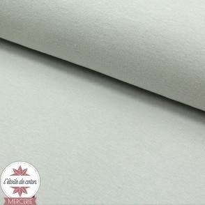 Bord-côte gris clair - Oeko-Tex