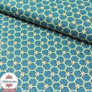Coton enduit Riad - canard