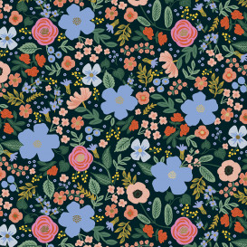 Rayonne (viscose) Cotton + Steel - Lively Floral