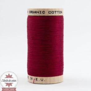 Fil 100% coton bio - rouge grenat