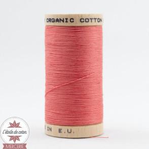 Fil 100% coton bio - corail