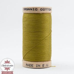 Fil 100% coton bio - vert pistache