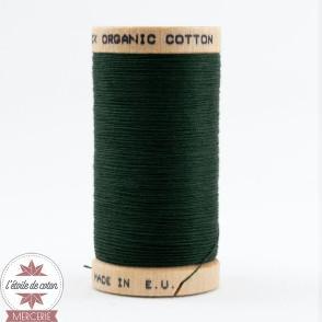 Fil 100% coton bio - vert sapin