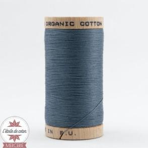 Fil 100% coton bio - bleu gris