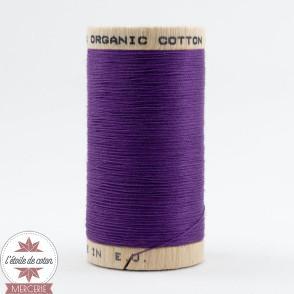 Fil 100% coton bio - violet